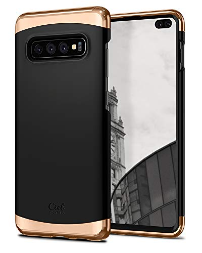 CYRILL Ciel by [Colene Kollektion] (606CS25786) Kompatibel mit Samsung Galaxy S10 Plus Hülle - Matte Schwarz