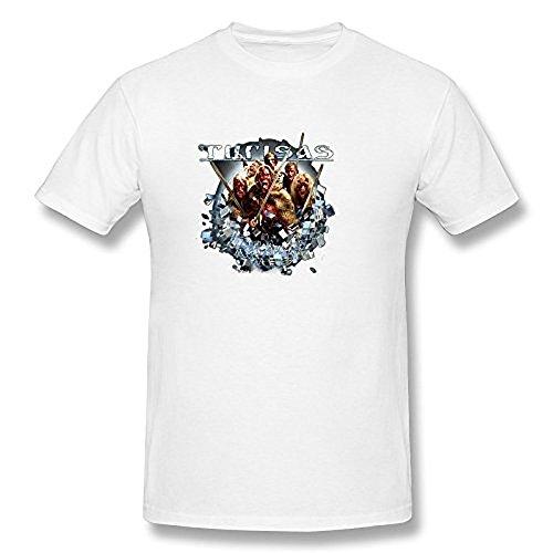 Men's Turisas Rasputin T Shirt White
