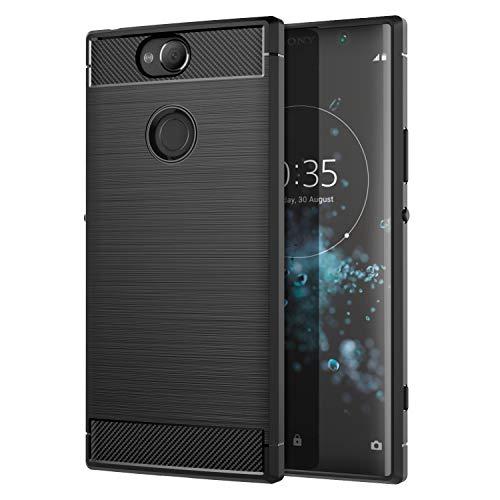 MoKo Sony Xperia XA2 Plus Hülle, Premium Ultra Slim Leicht weiches TPU Protector Phone Case Handy Schutzhülle Schale Bumper für Sony Xperia XA2 Plus 6