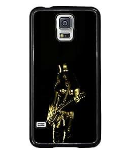 PrintVisa Designer Back Case Cover for Samsung Galaxy S5 Neo :: Samsung Galaxy S5 Neo G903F :: Samsung Galaxy S5 Neo G903W (fantastic pic rock music singer black)