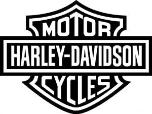 STICKER 2 AUTOCOLLANT 15 CM ETOILE HARLEY DAVIDSON SKULL MOTO AUTO