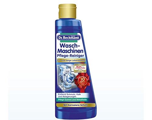 3 x Dr. Beckmann Waschmaschinen Pflege-Reiniger/ je 250ml/ entfernt Kalk, Schmutz & Ablagerungen/ hält Gummiteile elastisch