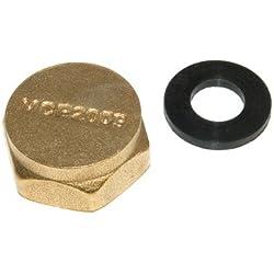Bouchon de protection pour lave-linge En laiton 2 cm