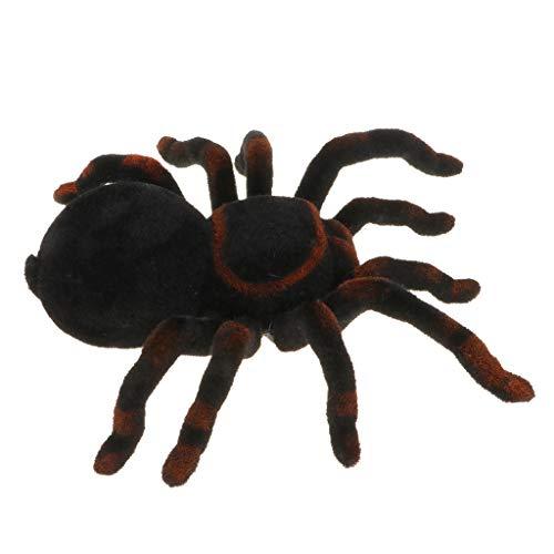 T TOOYFUL Infrarot Fernbedienung Realistische Plüsch Vogelspinne Spinne Halloween Trick Spielzeug
