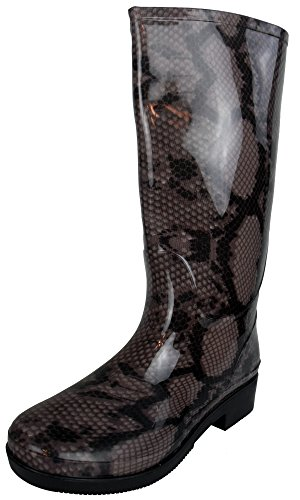 Cookies and Cream Ladies Wellington Boots Printed Rain Snow Winter Boot Wellies Size Womens UK 3-8