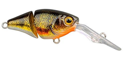 Spro Ikiru Joint Crank 35 3,5cm 3,4g - Wobbler zum Spinnfischen auf Forelle & Barsch, Forellenwobbler, Barschköder, Crankbait, Farbe:Yellow Perch