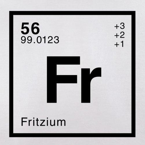 Fritz Periodensystem - Herren T-Shirt - 13 Farben Weiß