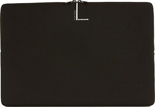 Tucano Second Skin Colore Neopren-Hülle für widescreen Notebooks 38.5 × 26 × 3 Widescreen Notebooks schwarz