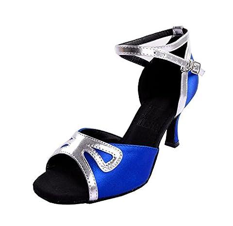 Kevin Fashion , Salle de bal femme - Bleu - bleu, 36