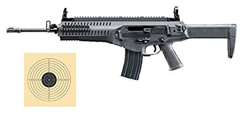 SET: Softair Gewehr Beretta ARX160 Advanced AEG elektrisch unter 0,5 Joule 6mm 7651 + G8DS® Zielscheibe