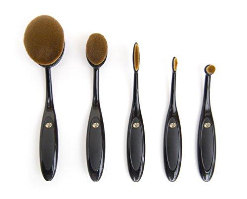 Rio Essential micro fibra professionale ovale spazzole da collezione
