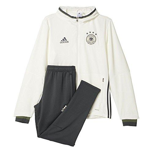 adidas Herren Trainingsanzug DFB PRE Suit Anzug, Off White, L
