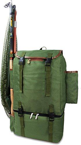 Rucksack Anglerrucksack zum Fischen mit Thermoteil ISO Rucksack Kühlfach Backpack Kühlrucksack