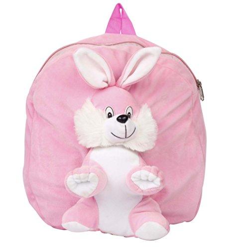 Amber Shine Rabbit Plush Fabric soft toy school bag for play school kids/boys/girls/baby/children