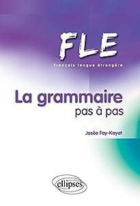 """Afficher """"La grammaire pas à pas"""""""