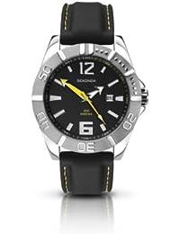 SEKONDA 3324.27 - Reloj de cuarzo para hombres, color negro