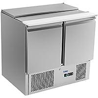 Royal Catering - RCKT-90/70-S - Bajomostrador refrigerado - mesa para cortar 2.0-90x70 cm- 300 l - 250 watt - Envío Gratuito