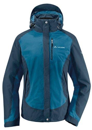 VAUDE women's oulanka jacket veste Turquoise - Bleu
