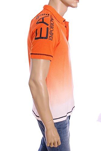 Armani Herren Poloshirt Orange - Orange