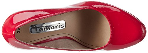 Tamaris 22426, Scarpe con Tacco Donna Rosso (Chili Patent 520)