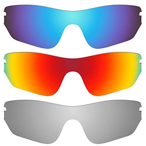 Revant Ersatzlinsen für Oakley RadarLock Edge Polarisiert 3 Paar Kombipack K014