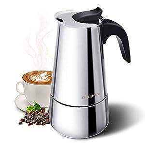 Godmorn Stovetop Espresso Maker, Coffee Maker, Moka Pot