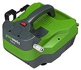 Greenworks 4101607 GWACTL Elektrischer Luftkompressor ohne Tank, 1100 W, 230 V, Grün