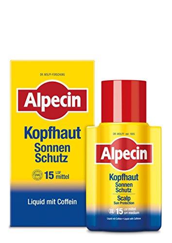 Alpecin Kopfhaut Sonnen-Schutz LSF 15, 100ml - Schützt vor Kopfhaut-Sonnenbrand, stärkt dabei die Haarwurzeln + Alpecin C1 Coffein-Shampoo...