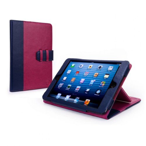 tuff-luv-manhattan-leather-case-cover-with-sleep-function-for-apple-ipad-mini-navy-berry-pink