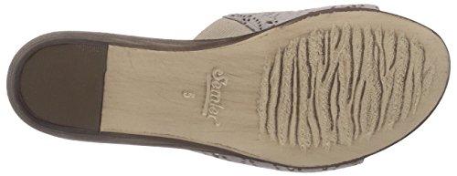 Semler Gloria, Chaussures de Claquettes femme Beige - Beige (762 panna-gold)
