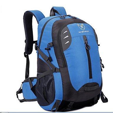40 L Laptop-Rucksäcke Radfahren Rucksack Rucksack Tourenrucksäcke/RucksackKlettern Freizeit Sport Radsport/Fahhrad Reisen Schule Camping Blue