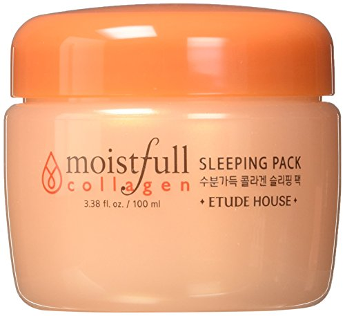 Etude House Moistfull Collagen Sleeping Pack, 3.38 Ounce