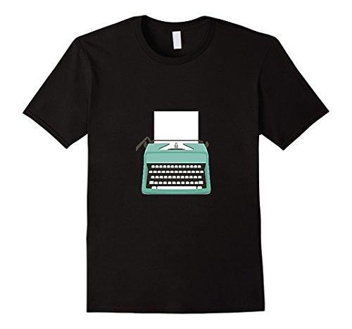 Men's Vintage Electric Typewriter Load Paper T-shirt