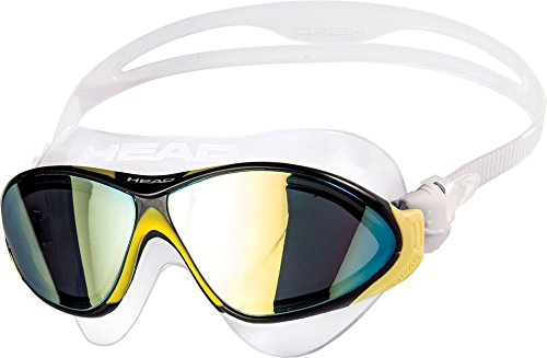 HEAD Horizon Mirrored Brille Clear/Yellow/Black/Smoked 2019 Schwimmbrille
