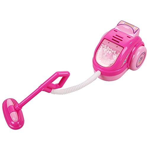 La Cabina Mini Machine Appareils Electriques et Meubles pour Enfants Children Play House Toy Cadeau de Bébés Jouet Educatif Enfant (Couleur aléatoire) (Aspirateur)