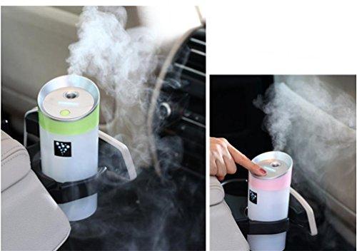 Preisvergleich Produktbild NN Anion Parkuhr Mini Auto Luftreiniger Luftbefeuchter Usb Luftbefeuchter Aromatherapie , Green,green