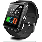 Houzon U8 - SmartWatch Bluetooth V3.0 (EDR, pantalla táctil, Android) color negro