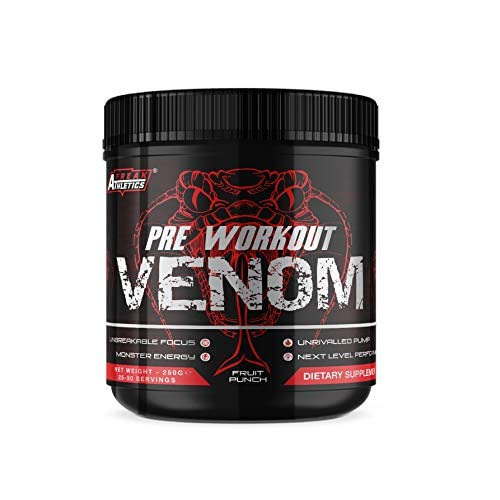 41bTB8iXM6L. SS500  - Pre Workout Venom 'Fruit Punch' - The No1 Pump Pre Workout Supplement by Freak Athletics - Elite Level Pre Workout Supplement - Pre Workout Powder Made in The UK - Available in Fruit Punch