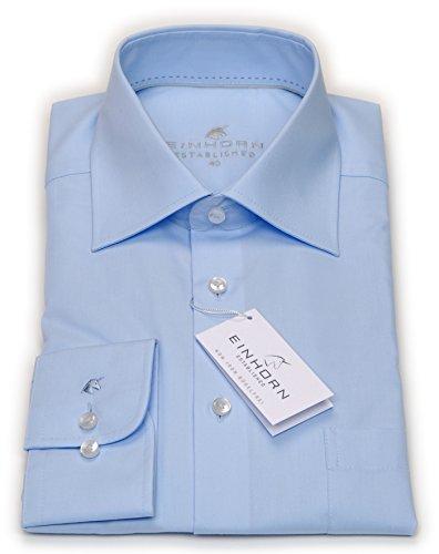 Einhorn Hemd, hellblau Blau