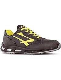 U-Power Zapatilla de Elite S3SRC Zapato de Seguridad Para Hombre, Color Negro, Talla 40