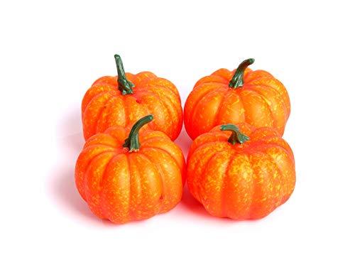 4Best Künstliche 9cm Mini Pumpkins Halloween Fancy Dress Party Gemüse Obst