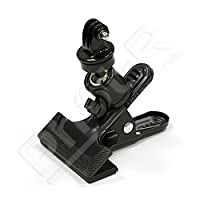 Phot-R Photo Studio Multi-Function Dual Spring Tripod Flash Reflector Holder Swivel Clamp Clip �?�?� Screw Ball Head + Mount Adapter For GoPro Hero 1 2 3 3+ 4 HD Camera