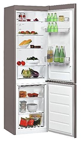 Whirlpool BSNF 8101 OX Freestanding Acier inoxydable 222L 97L A+ - réfrigérateurs-congélateurs (Autonome, Bas-placé, A+, Acier inoxydable, SN-T,