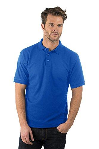 Bruntwood Aufgeld Polo Hemd - Premium Polo Shirt - Herren & Damen - 220GSM - Polyester/Baumwolle Königsblau