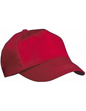 Result - Cappellino Tinta Unita con Visiera - Unisex