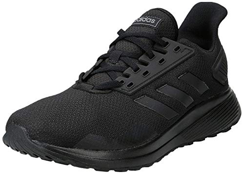 adidas Herren Duramo 9 B96578 Fitnessschuhe, Schwarz (Negbás/Negbás/Negbás 000), 45 1/3 EU