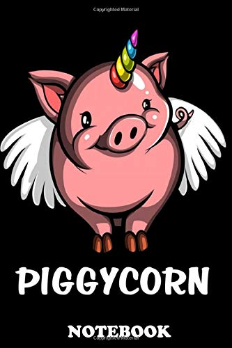 Notebook: This Piggycorn Pig...