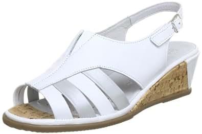 Comfortabel 710601, Damen Sandalen, Weiß (weiss 3), EU 36