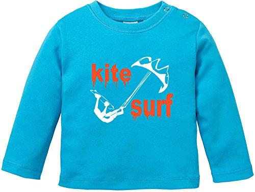 EZYshirt® Kite Surf Baby T-Shirt Longsleeve (Flex Body Bar)