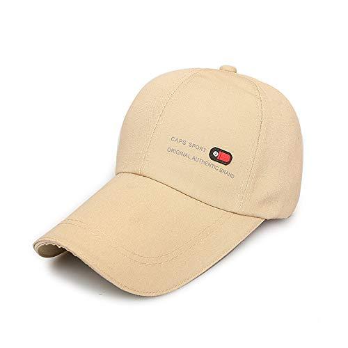 KFEK Mann- und Frauensonnenschutz-Baseballmütze lang, Fischenhutvisierkappe im Freien C4 - Schornstein Cap Design